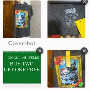 Star Wars Merry Sithmas Tee size S